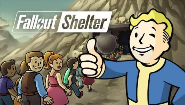 Fallout Shelter logo e3 mobile