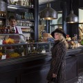 "HANNIBAL -- ""Antipasto"" Episode 301 -- Pictured: Gillian Anderson as Dr. Bedelia Du Maurier -- (Photo by: Brooke Palmer/NBC)"