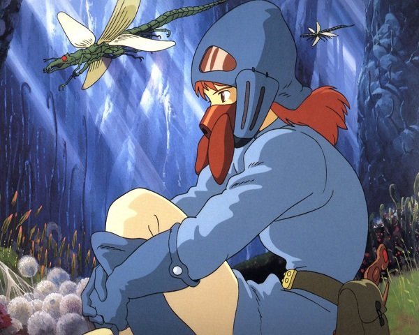 Nausicaä of the Valley of the Wind - Nausicaä in the toxic jungle
