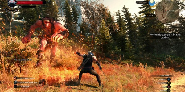 THe Witcher 3 Igni