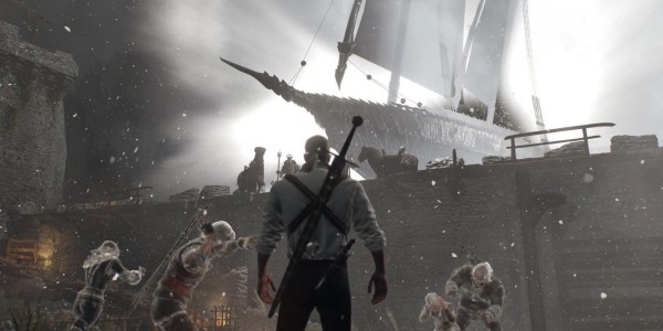 The Witcher 3 intro