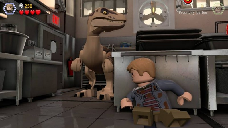jurassic lego kitchen screen