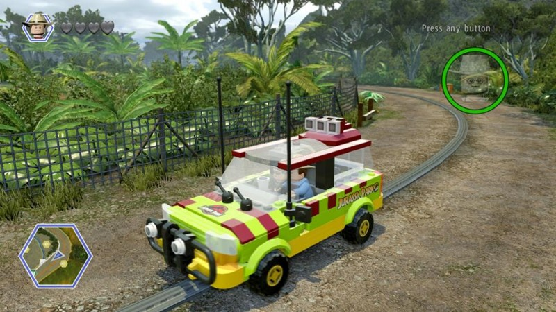 jurassic lego screen truck