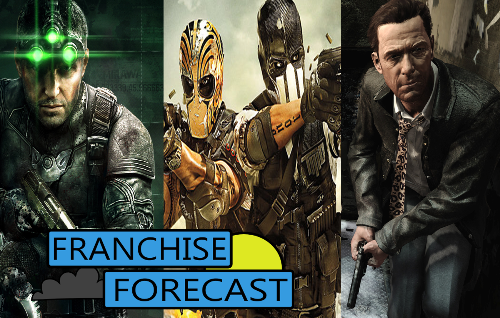 franchiseforecast maxpayne splintercell
