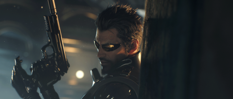 Deus Ex Mankind Divided cg trailer screen