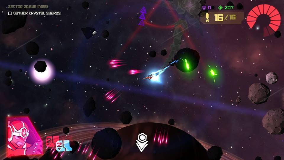 Galak Z screen combat space