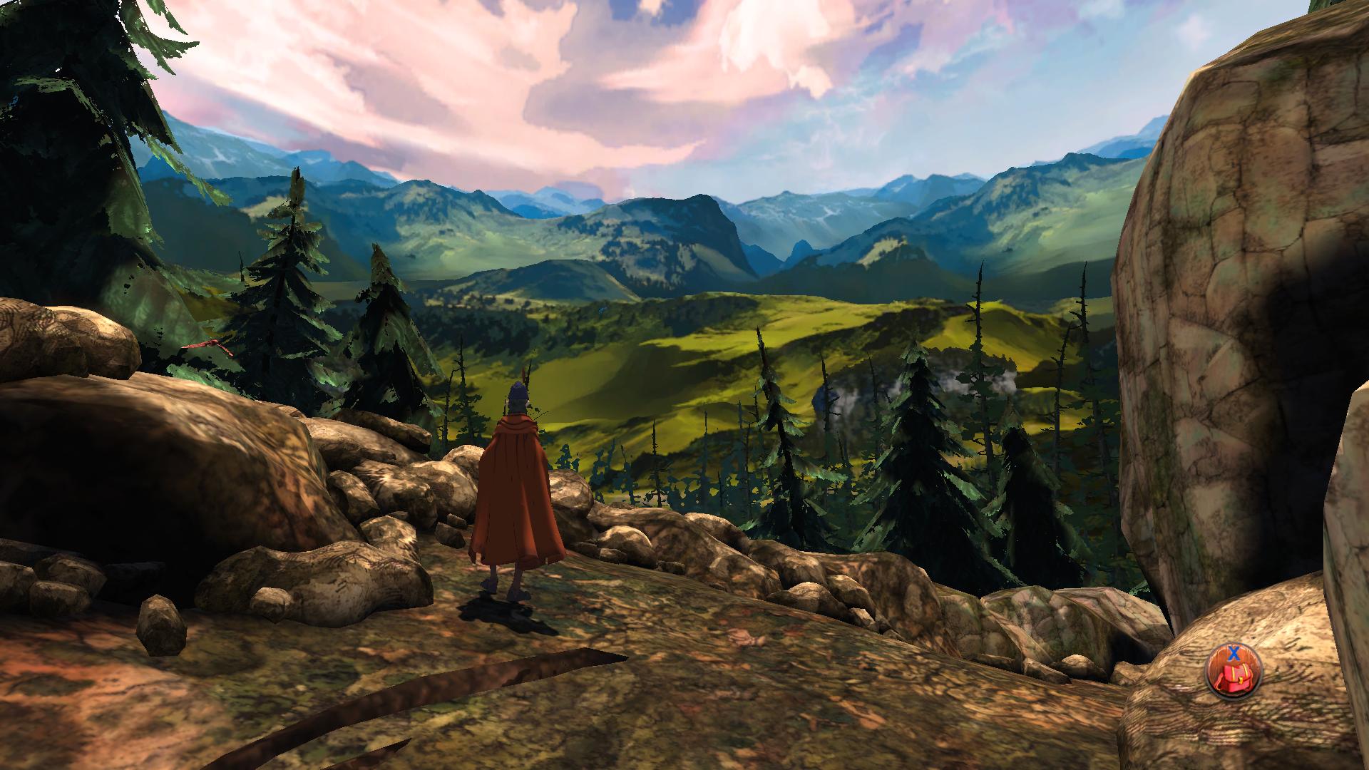 kings quest ch1 landscape screen
