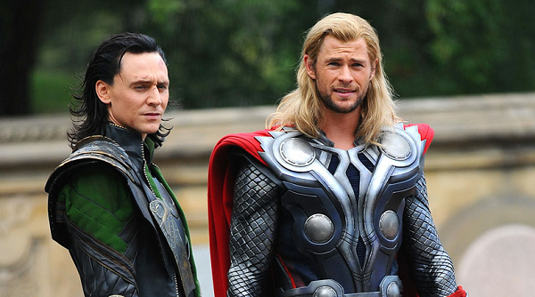 the avengers - thor and loki