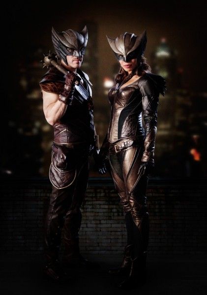 Hawkgirl and Hawkman - DC's Legends of Tomorrow