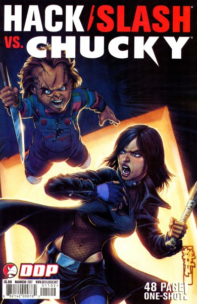 Cassie Hack vs. Chucky - Hack-Slash