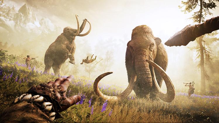 Far Cry Primal mammoth spear