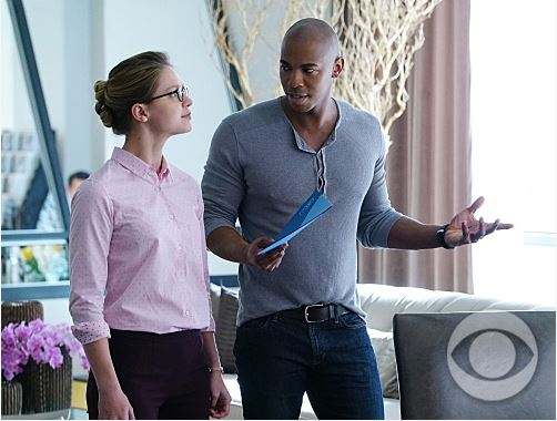 Kara Danvers and James Olsen - Supergirl