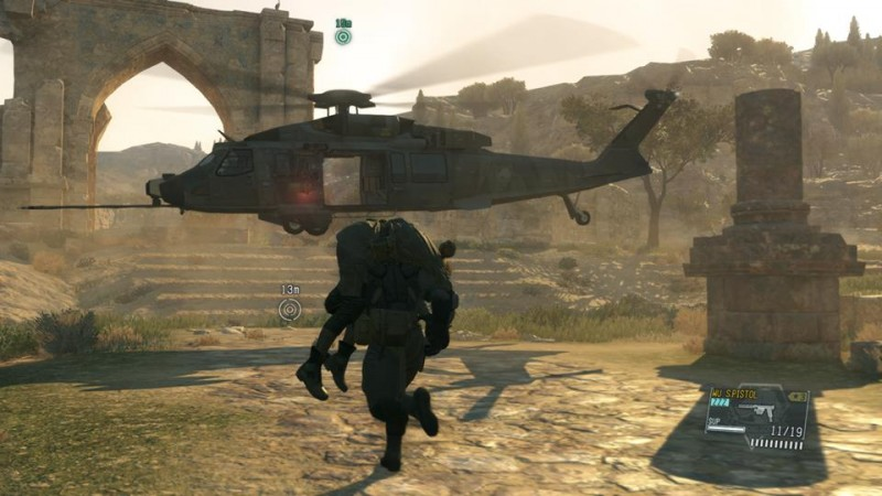 MGS V helicopter