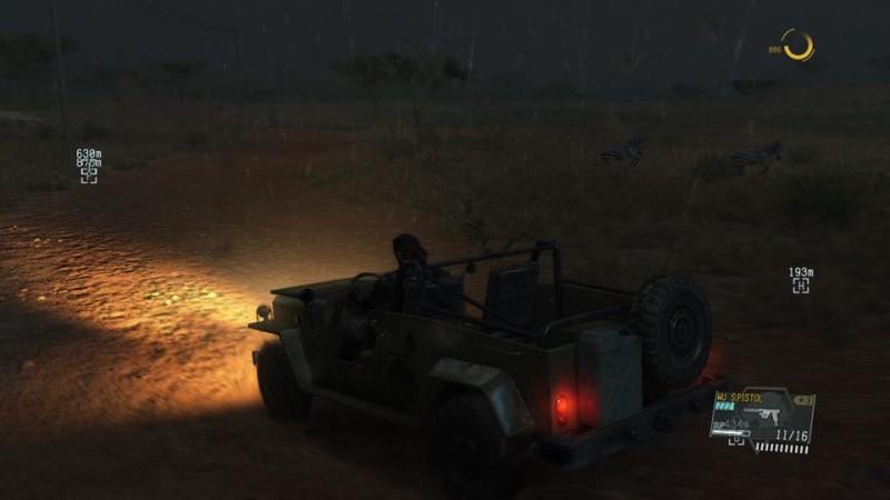 MGS V rain jeep