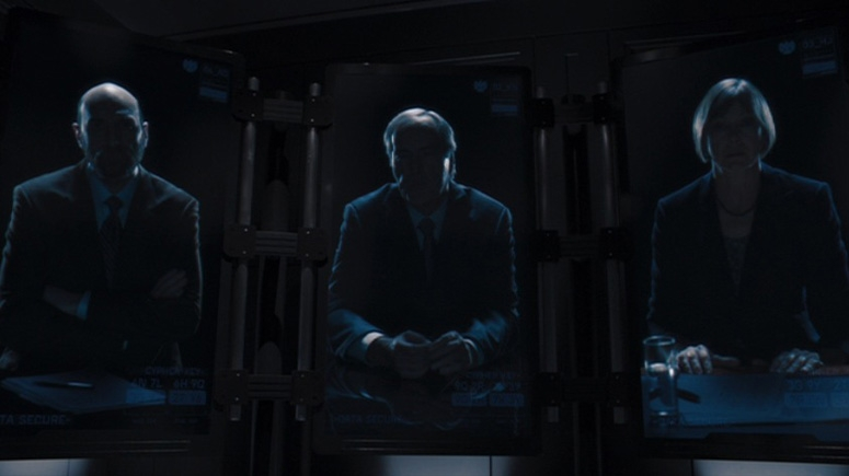 Powers Boothe as Gideon Malick - The Avengers