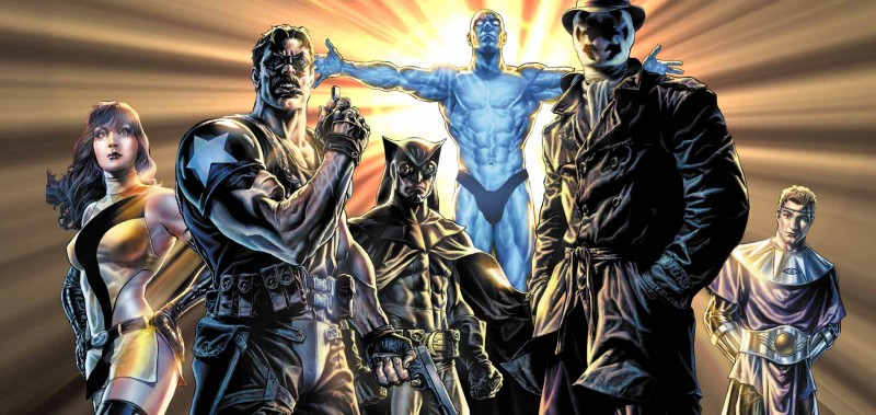 Rorschach, Silk Spectre II, The Comedian, Dr. Manhatten, Ozymandias, Nite Owl II - Before Watchmen