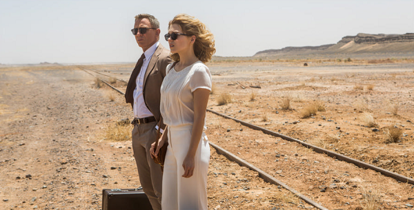 Spectre - bond and madeline