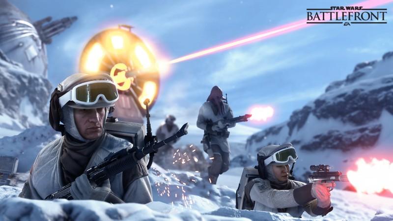 Star Wars BF beta rebels hoth