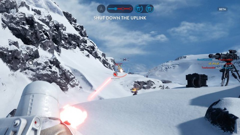 Star Wars Beta hoth