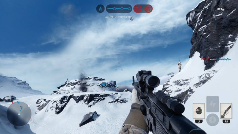 Star Wars Beta hoth fps