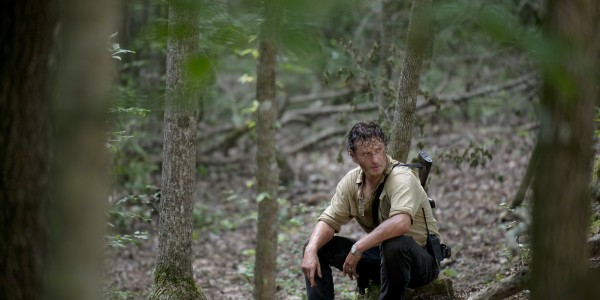 Andrew Lincoln as Rick Grimes - The Walking Dead _ Season 6, Episode 3 - Photo Credit: Gene Page/AMC