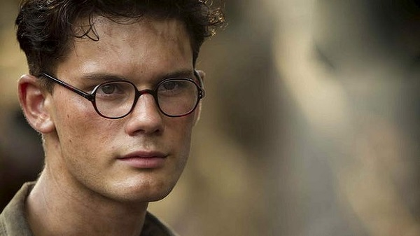 jeremy irvine - the railway man