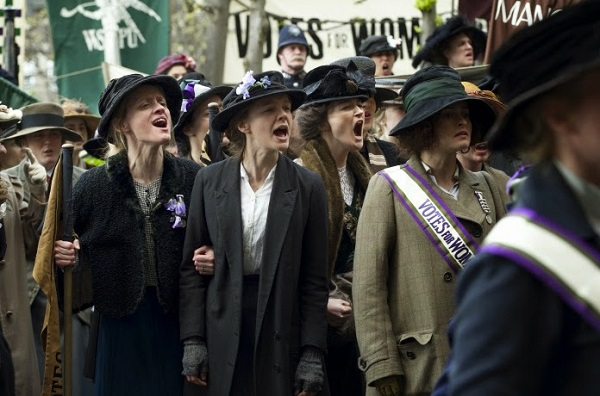 suffragette - protest