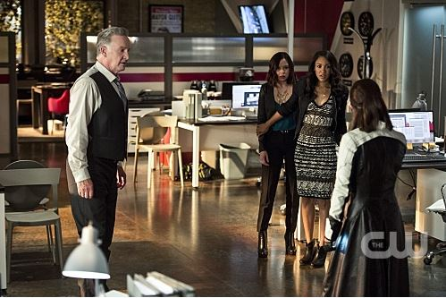 Eric Larkin, Linda Park, Iris West, Doctor Light - The Flash