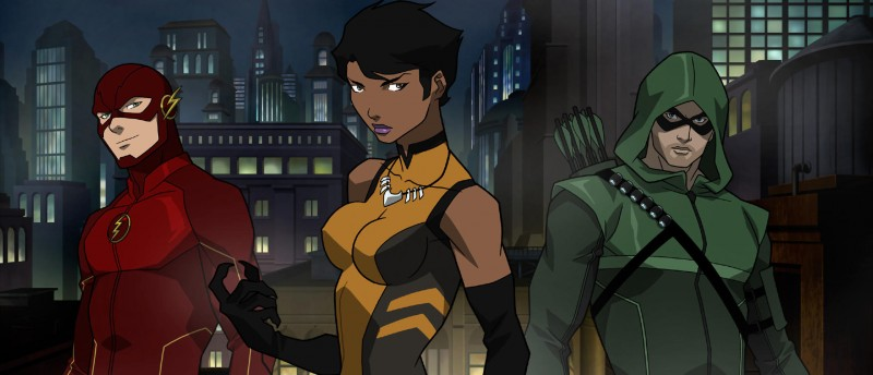 Flash, Vixen, and The Arrow - Vixen