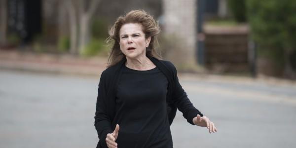 Tovah Feldshuh as Deanna - The Walking Dead _ Season 5, Episode 15 - Photo Credit: Gene Page/AMC