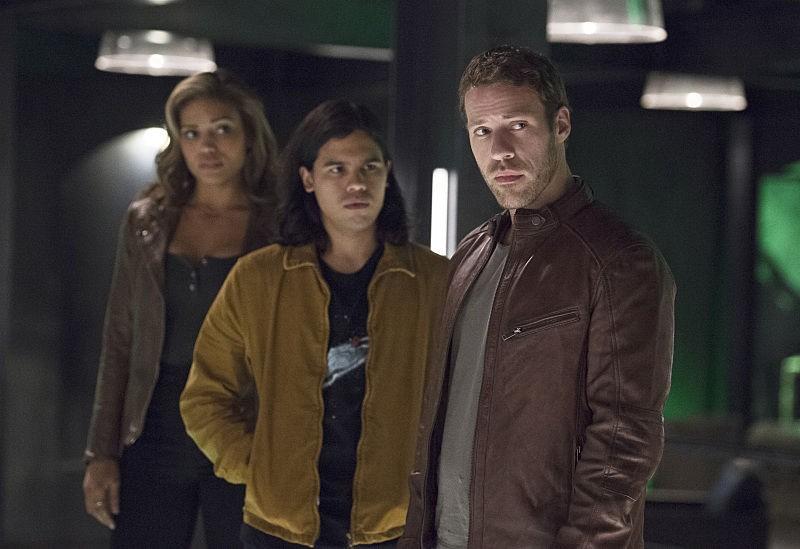 Carter Hall, Kendra Saunders, Cisco Ramon - The Flash