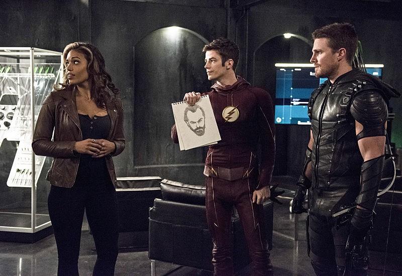 Kendra Saunders, Oliver Queen, Barry Allen - The Flash