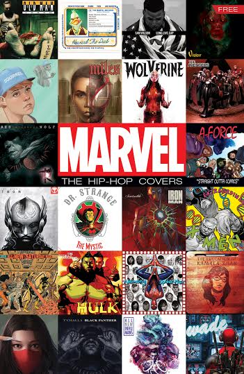 Marvel Hip-Hop Variants