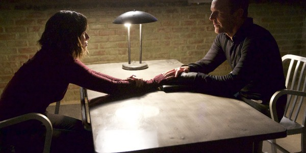 "MARVEL'S AGENTS OF S.H.I.E.L.D. - ""Closure"" - Ward's campaign for revenge brings the S.H.I.E.L.D. team to their knees, and Coulson proves he will do anything to settle the score, on ""Marvel's Agents of S.H.I.E.L.D.,"" TUESDAY, DECEMBER 1 (9:00-10:00 p.m., ET) on the ABC Television Network. (ABC/Greg Gayne) CHLOE BENNET, CLARK GREGG"