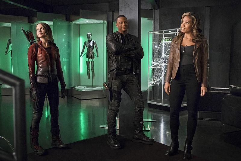 Thea Queen, John Diggle, Kendra Saunders - The Flash