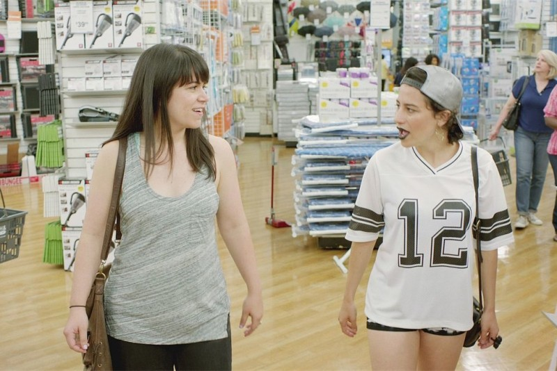 The outrageous duo Abbi (Abbi Jacobson) and Ilana (Ilana Glazer) know that Bed Bath and Beyond coupons never expire. Photo by Comedy Central.