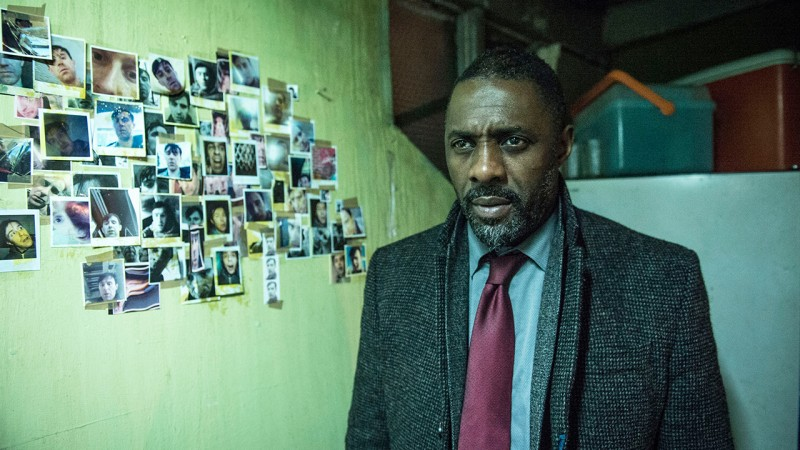 Detective John Luther (Idris Elba) is investigating one of the most monstrous, gruesome suspects he's ever come across. Photo by BBC America.