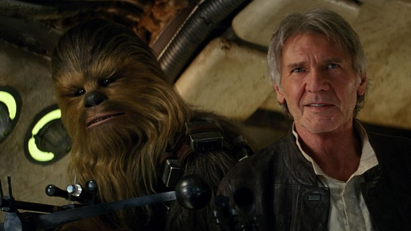 star wars - han solo and chewie