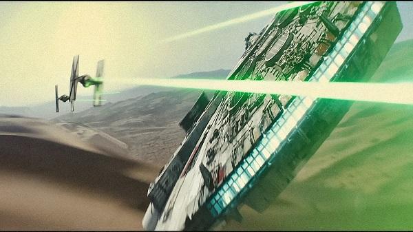 star wars the force awakens millenium falcon
