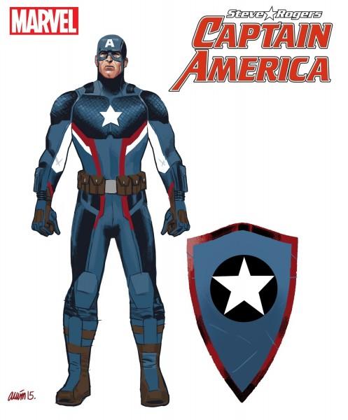 Captain America: Steve Rogers Costume