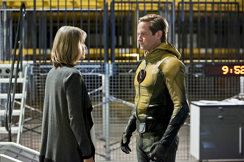 Dr. Christina McGee, Reverse-Flash (Eobard Thawne) - The Flash