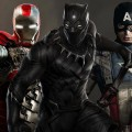 Iron Man, Black  Panther, and Captain America