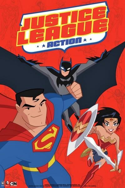 Wonder Woman, Batman, Superman - Justice League- Action