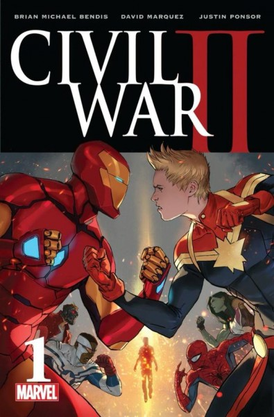 Civil War II 1 cover event comics