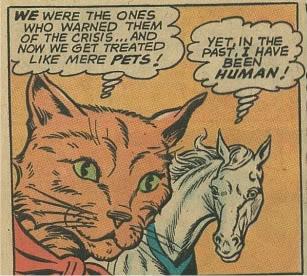 A Horse and a Cat Speak of Revolt