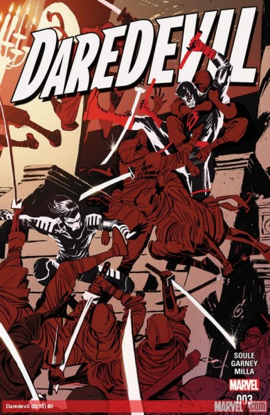 Daredevil #3 2016 cover