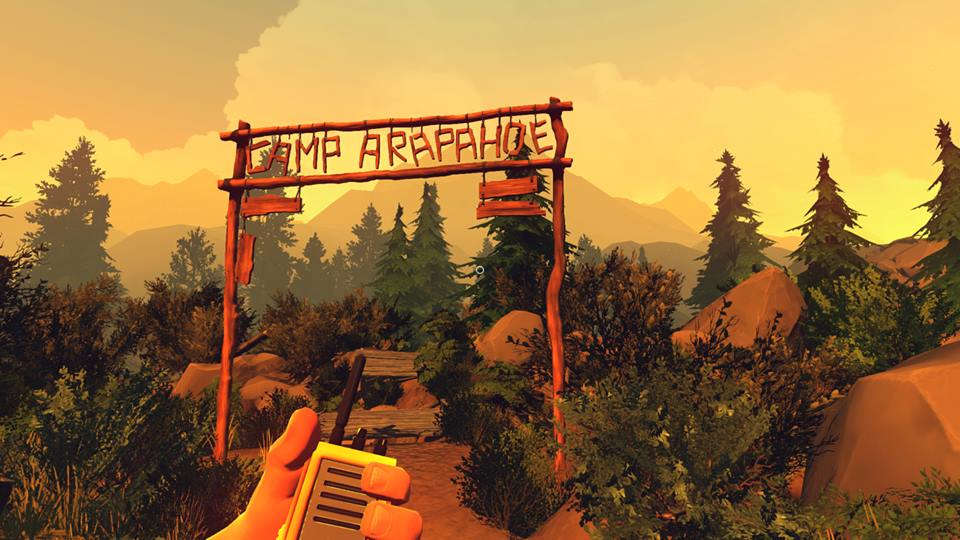 Firewatch campsite