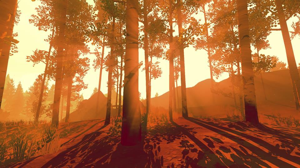 Firewatch sun tress