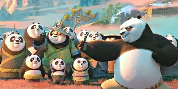 Kung Fu Panda 3 Header