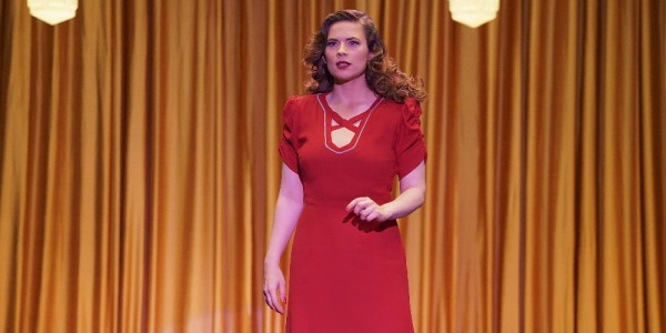 "MARVEL'S AGENT CARTER - ""A Little Song and Dance"" - Peggy desperately tries to save Dr. Wilkes with a dangerous plan to stop Whitney Frost. But Thompson makes a surprising move that could destroy them all, on ""Marvel's Agent Carter,"" TUESDAY, FEBRUARY 23 (10:00-11:00 p.m. EST) on the ABC Television Network. (ABC/Byron Cohen) HAYLEY ATWELL"